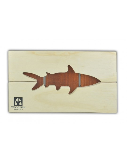 Quadro Decoração Tubarão Branco | Prancharia
