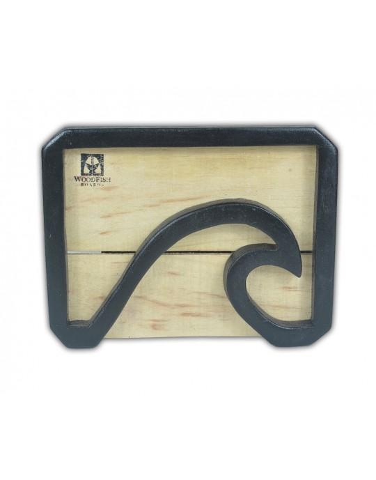 Quadro Decorativo Black Wave | Prancharia
