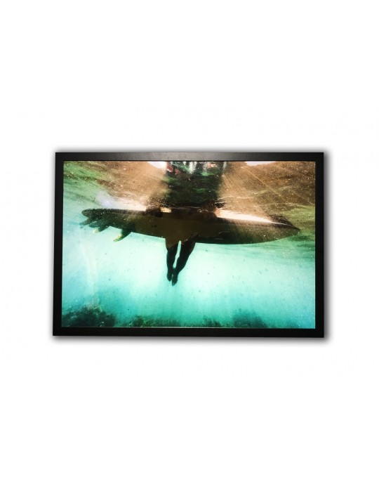 Quadro Decorativo Tahiti Dentro da Água | Prancharia