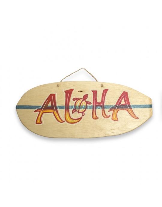 Quadro Surf Aloha   Prancharia