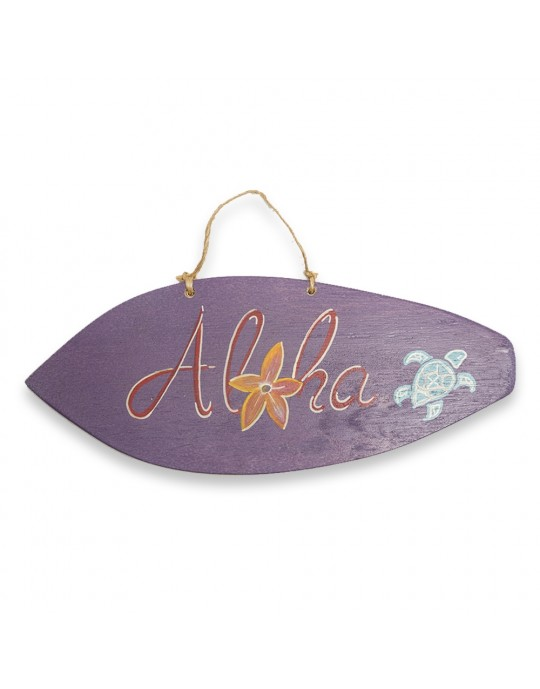 Quadro Surf Tartaruga Aloha | Prancharia