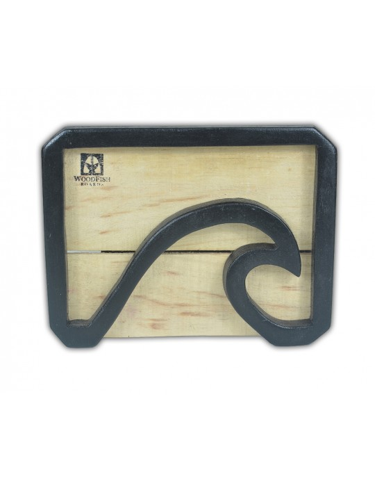 Quadro Decorativo Black Wave | Prancharia