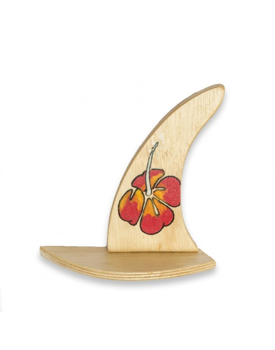 Quilha Decorativa 1 Hibisco   Prancharia
