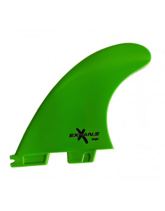Quilhas Encaixe FCS2 Expans Grande Verde