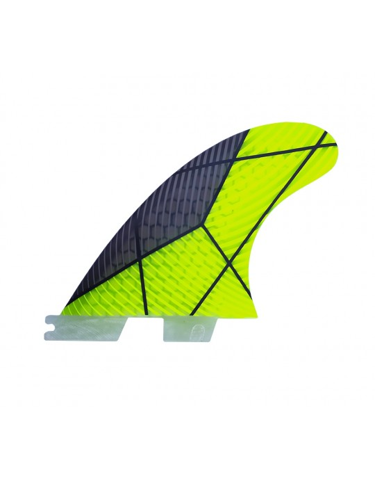 Quilhas FCS 2 Fibra de Vidro G5 Verde
