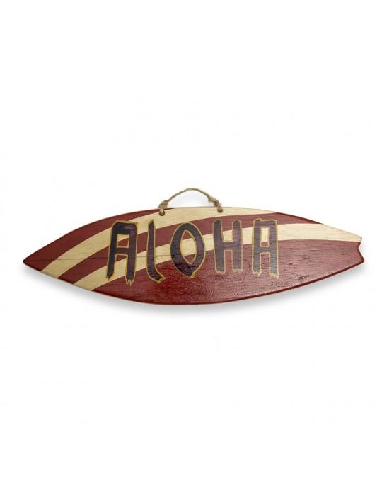 Quadro Aloha marrom rabeta fish -  Prancharia