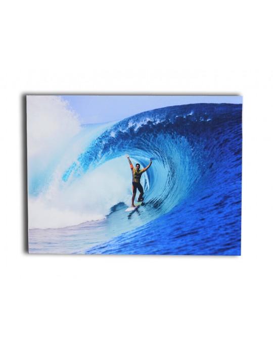 Quadro Surfista Teahupoo | Prancharia