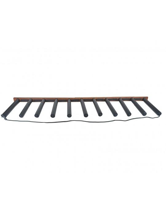Rack Para 10 Pranchas de Stand Up Paddle - Vertical - Madeira | Prancharia