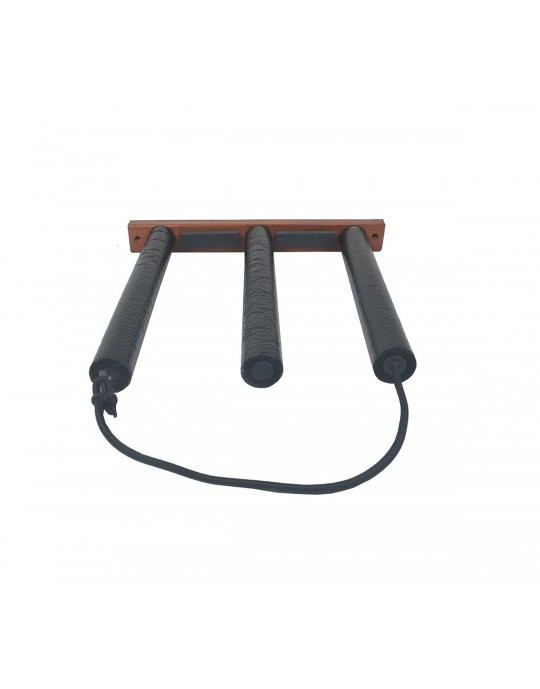 Rack Para 2 Pranchas de Stand Up Paddle - Vertical - Madeira | Prancharia