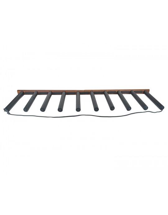 Rack Para 9 Pranchas de Stand Up Paddle - Vertical - Madeira | Prancharia