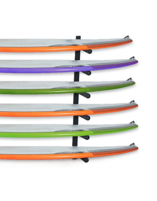 Rack Para 6 Pranchas de Surf - Horizontal | Prancharia