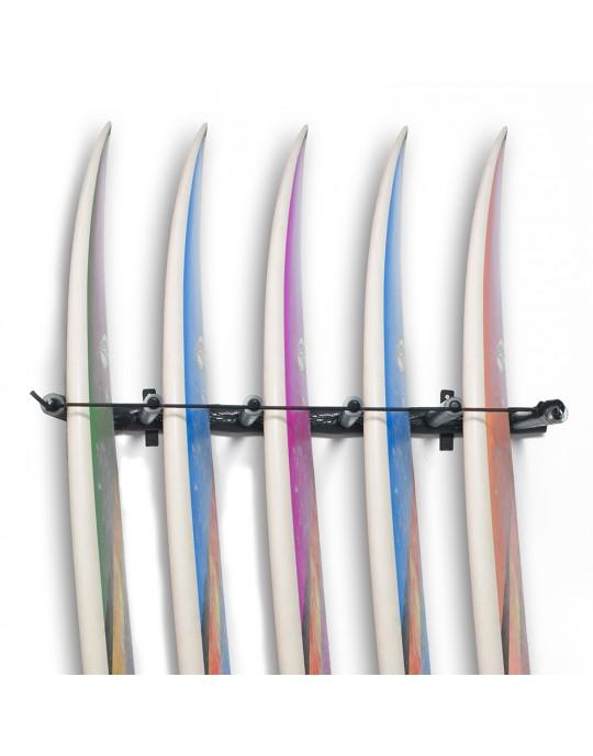 Rack Para 5 Pranchas de Surf - Vertical | Prancharia