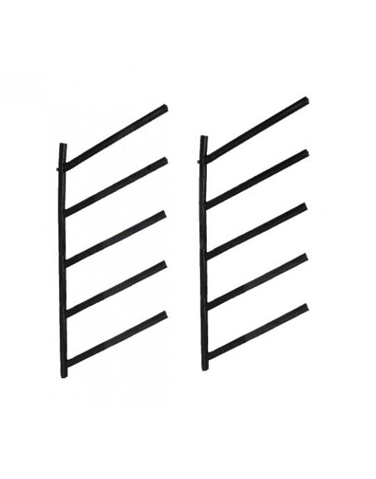 Rack Para 5 Pranchas de Surf 45º - Horizontal | Prancharia