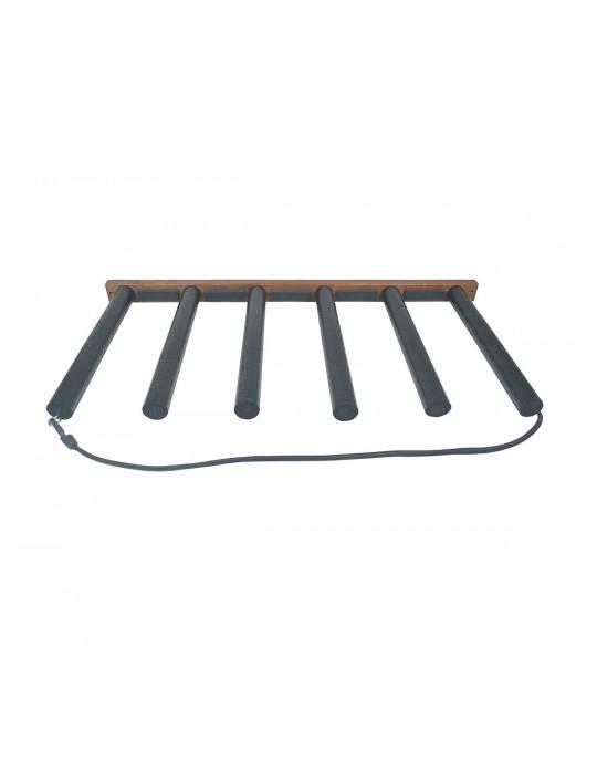 Rack Para 5 Pranchas de Stand Up Paddle - Vertical - Madeira | Prancharia