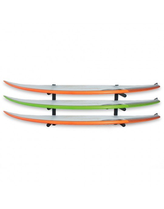 Rack Para 3 Pranchas de Surf - Horizontal   Prancharia