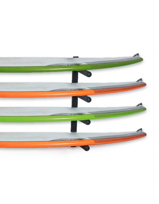 Rack Para 4 Pranchas de Surf - Horizontal   Prancharia