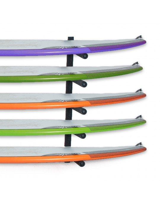 Rack Para 5 Pranchas de Surf - Horizontal   Prancharia