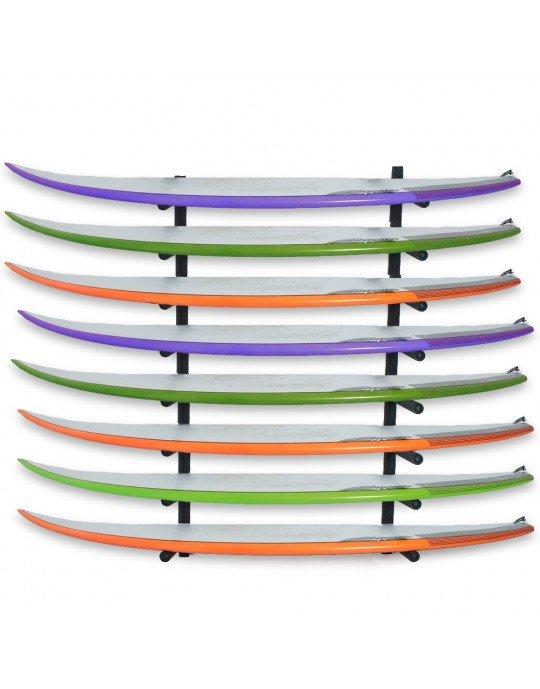 Rack Para 8 Pranchas de Surf - Horizontal   Prancharia