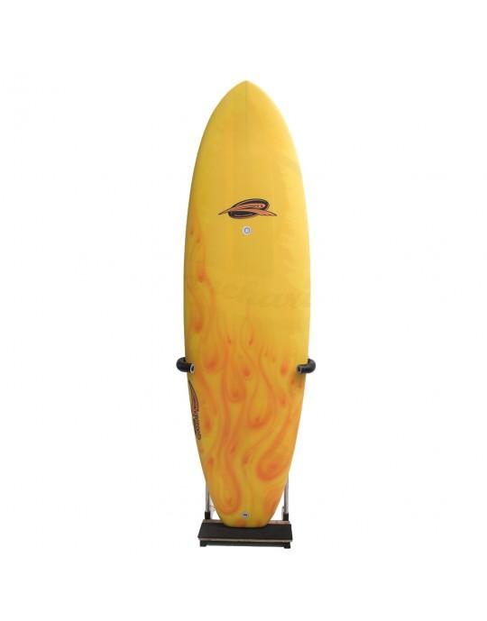 Rack Vertical tipo Expositor para 01 Prancha de Surf Longboard de 9'0'' a 9'8'' | Prancharia