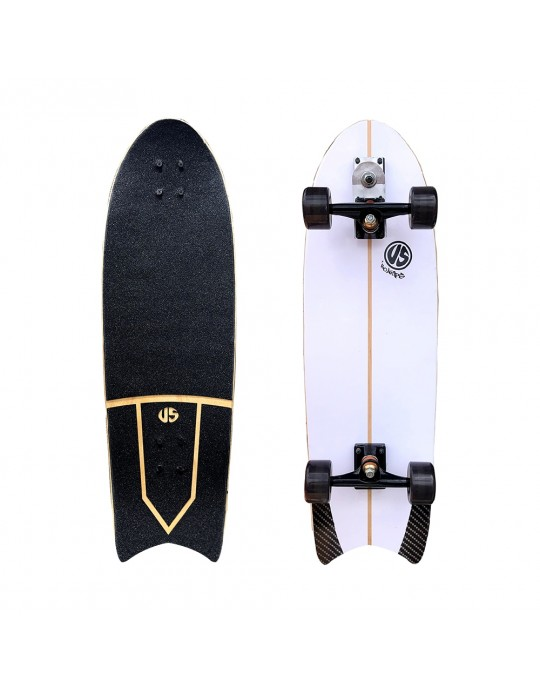 Skate Simulador de Surf Us Boards Swallow | Prancharia