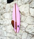 Cabideiro com Quilha na Pranchinha Rosa | Prancharia