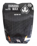 Deck Surf Banana Wax Thermo-Fresado Preto 3 Partes