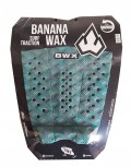 Deck Surf Banana Wax Thermo-Fresado Verde Mesclado 3 Partes