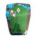 Deck Surf Funboard Rubber Sticky Verde Bandeira | Prancharia