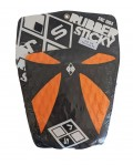 Deck Surf Rubber Sticky The Cross Laranja e Preto  | Prancharia