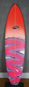 """Evolution Rip Wave 6'8"""" Vermelho"""
