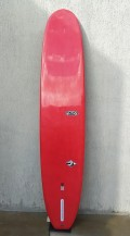 "Longboard 10'0"" Vermelho Neco Carbone Seminovo"