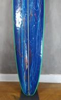 "Longboard 9'0"" Azul com Verde Rip Wave Seminovo"
