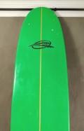 """Longboard 9'0"""" Azul com Verde Beto Loureiro Seminovo"""