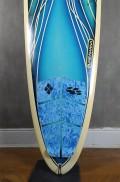 """Longboard 9'0"""" Azul Paulo Rabello Seminovo"""