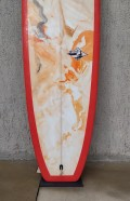 "Longboard 9'4"" Vermelho Neco Carbone Seminovo"