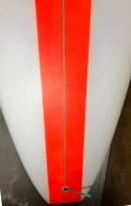 Longboard Marcelo Neto 9'8 Branco e Vermelho