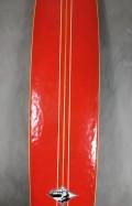 "Longboard Neco Carbone 9'1"" Vermelho Seminovo"