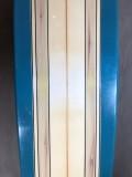 "Longboard Paulo Rabello 9'2"" Azul/Madeira Seminovo"