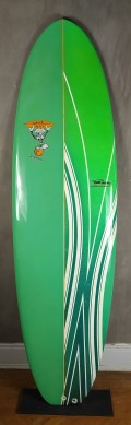 "Mini Tunk Wave Toys 6'7"" Verde"