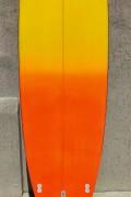 Prancha de Stand Up Paddle 10' Rip Wave Laranja e Amarelo - Pronta Entrega