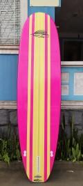 "Prancha de Stand Up Paddle 10'6"" Rip Wave Rosa - Pronta Entrega"