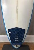 "Prancha de Surf Almir Salazar 6'6"" Cinza Seminova"