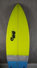 "Prancha de Surf DHD 5'9"" Switch Blade Verde Seminova"