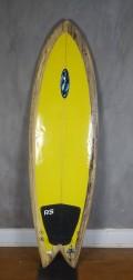 """Prancha de Surf Fish Biquilha 6'0"""" Seminova"""