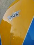 """Prancha de Surf Funboard Beto Loureiro 7'10"""" Seminova"""