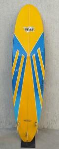 """Prancha de Surf Funboard Seven Seas 7'10"""" Seminova"""