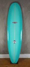 "Prancha de Surf Funboard New Advance 7'0"" Verde Agua PU"