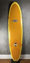 "Prancha de Surf Funboard New Advance 7'2"" Marrom EPS + Epoxi"