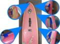 """Prancha de Surf Funboard Perfect Waves 7'6"""" Seminova"""