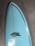 "Prancha de Surf Funboard Rip Wave 7'0"" Azul Seminova"
